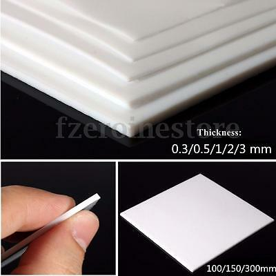 PTFE Teflon Film Sheet Plate Plastic Thickness 0.3/0.5/1/2/3mm High temperature