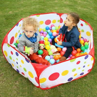 Ball Pool Tent Baby Toy Stages Educational Learn Outdoor Game Play Toddler Kids
