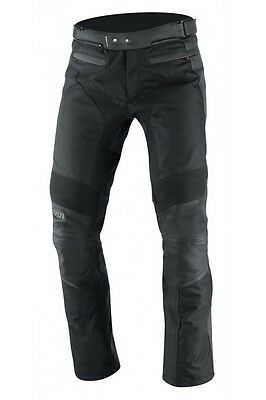IXS Malaga Leather Motorcycle Pants Black Men's
