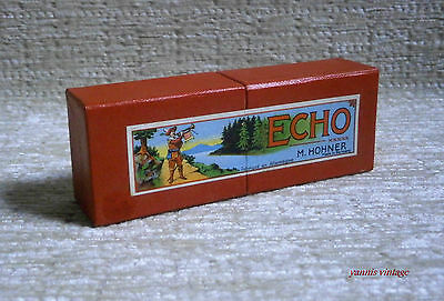 """ ECHO "" M. HOHNER MISB Made in Germany New in the sealed box RARE VTG"