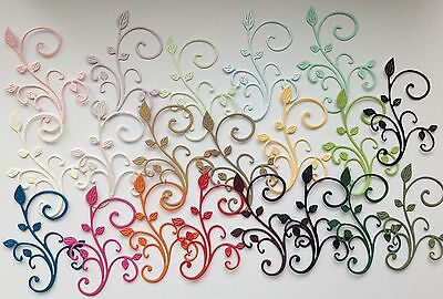 Bargain Pack of 20 Cheey Lynn Fanciful Flourish Die-cuts (Multi Coloured)
