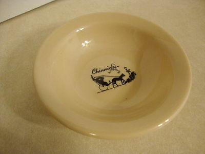 Vintage Shenango Restaurant Ware China Chinnick's Grand Rapids Berry Bowl Pool!