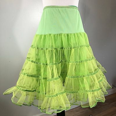 VINTAGE MAKCO MODES OF CALIFORNIA GREEN PETTICOAT WITH BLOOMERS/ Square Dance/