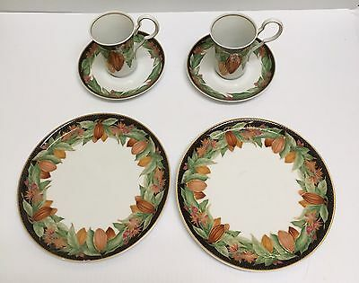 ❤ 6 Pc Classic Rose Rosenthal Group Germany Salad Plate, Tea Cup & Saucer Set ❤