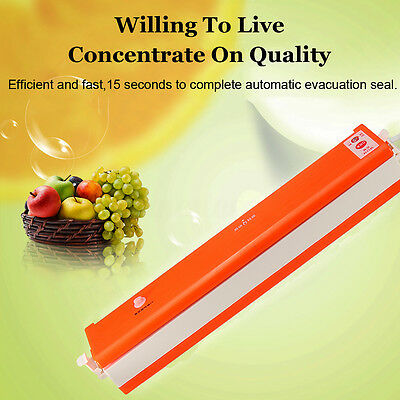 Automatic Fresh Food Vacuum Sealer Electric Sous Vide Packer Bag Packing Machine