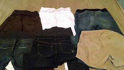TRENDY 19 PC MATERNITY Lot Size XS-M GAP Jeans Tops Dresses Belly Button