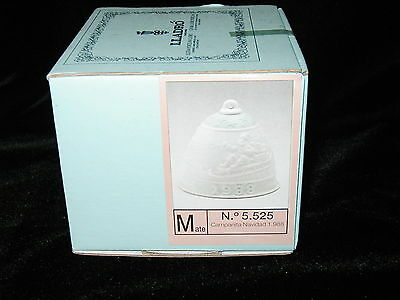 1988 Lladro porcelain bell NEW unopened box