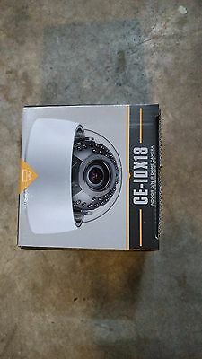 Clinton Electronics CE-IDX18 Indoor Day/Night Dome IR Camera
