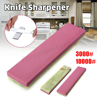 3000# 10000# Double Side Grit Knife Whetstone Sharpening Sharpener Wet Stone