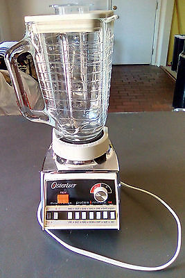 Vintage Osterizer Blender Cycle Blend Pulse Matic Imperial 10 Speed