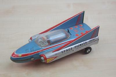 Modern Toys Trade Mark Tin Toy Space Pionier Japan Blech 70Er Jahre