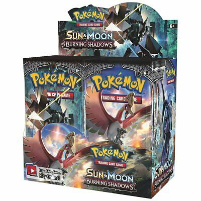 POKÉMON TCG Sun & Moon Burning Shadows Booster Box - Includes 36 Booste