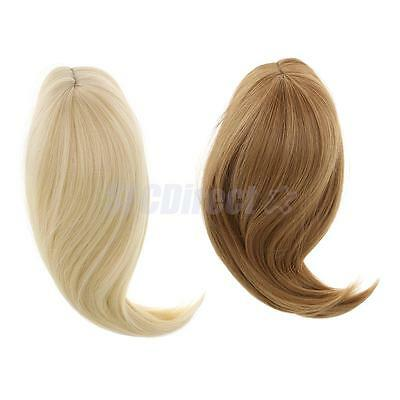 2pcs Wig Hairpiece Doll Hair Fit 18'' American Girl Doll DIY Making Supplies