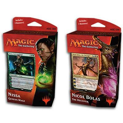 Magic The Gathering Hour of Devastation Planeswalker Both Decks