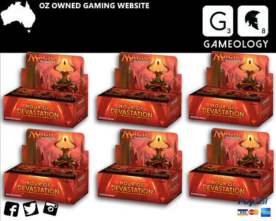 Magic The Gathering Hour of Devastation Booster Case - 6 booster Box