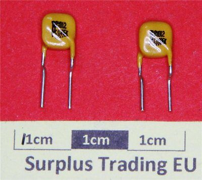 Bourns MF-RX012/250-0 Resettable Fuse PPTC 0.12A 60V  (Pk of 2)