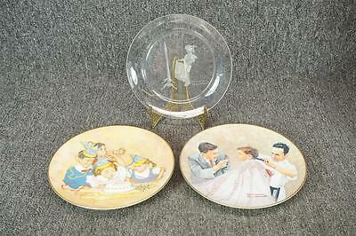 Fairmont China Norman Rockwell Collector Plates Set Of 3