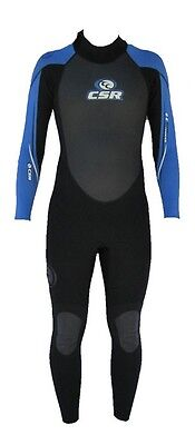 CSR by Crewsaver Elite Kids 53 Steamer Full Length Wetsuit ( Blue )