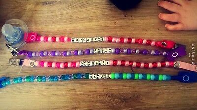 Personalised Dummy Clip buy 2 get 1 free!!