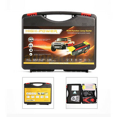 Car Jump Starter Pack Portable Charger Booster Power Bank Battery SOS 82800mAh