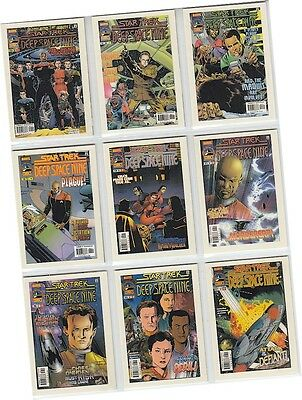 "Quotable Star Trek Deep Space Nine DS9 - 9 Card ""Comic Books"" Chase Set CB1-9"