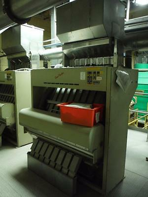 Satake scanmaster color sorter Model SM-820DE 8 lane unit