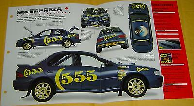 1993 1994 1995 Subaru Impreza Colin McRae Rally Car Turbo 300hp Info/Specs/photo