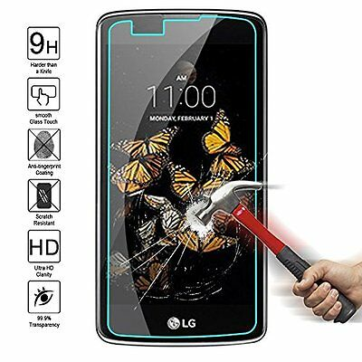 100% Genuine Tempered Glass Film Screen Protector For Lg K8 2017