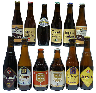 The Real Ale Store Trappist Ale Selection with Trappist Glass