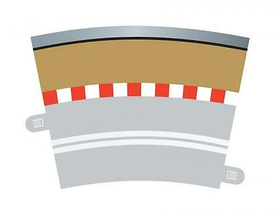 SCALEXTRIC C7019 SINGLE LANE RADIUS 3 OUTER BORDERS with BARRIERS USE WITH C7017