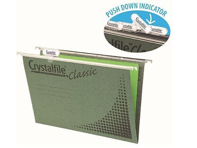 Crystalfile Classic Foolscap Suspension File Set 50/Box 111130C