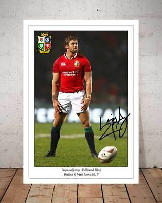 Leigh Halfpenny British & Irish Lions 2017 Autographed Signed Photo Print - 1