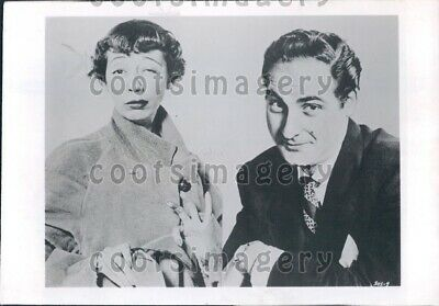 1974 Wire Photo Actors Comedians Imogene Coca & Sid Caesar