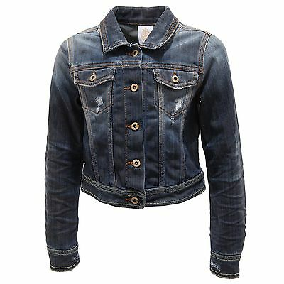 0841T giubbotto jeans bimba DONDUP denim jacket kid