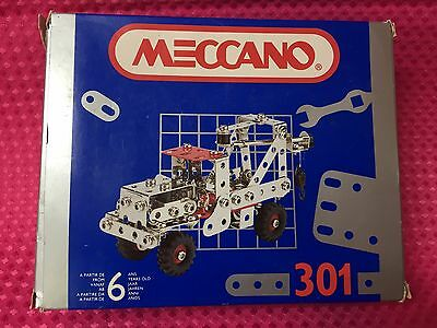Meccano Truck 301 complete with instructions and original box FREE SHIPPING!!!