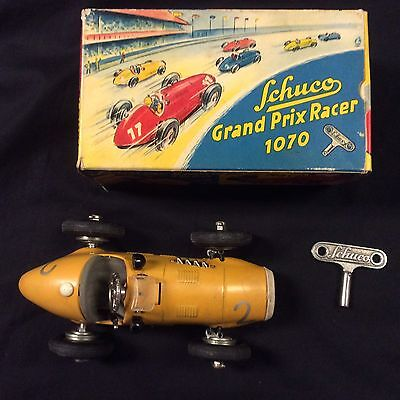 Schuco Grand Prix Racer Vintage Original With Box 1070