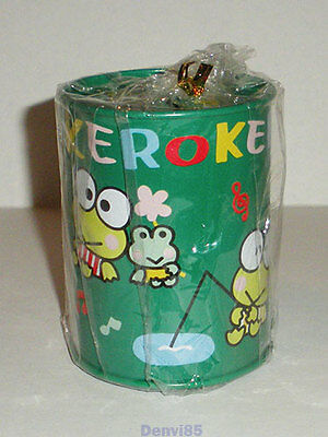 VINTAGE! 1996 Sanrio KEROPPI Metal Coin Bank! NEW!