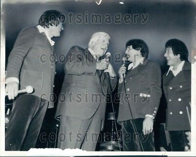 1980 Wire Photo MA Representative Tip O'Neil With The Lane Brothers