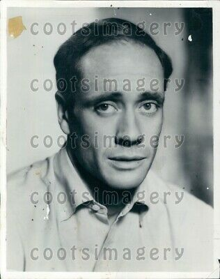 1954 Wire Photo Handsome Actor Mel Ferrer