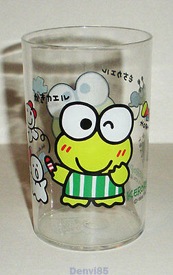 VINTAGE! 1993 Sanrio KEROPPI Clear Plastic Cup from JAPAN! NEW!