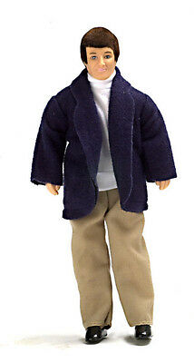Dollhouse Miniature Doll Father Vinyl Town Square #00018 1:12 Scale