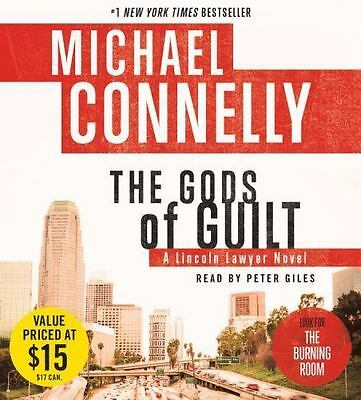 New Audio Book THE GODS OF GUILT Michael Connelly Abridged on 7 CDs