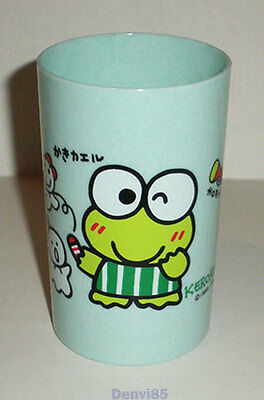VINTAGE! 1993 Sanrio KEROPPI Blue Plastic Cup from JAPAN! NEW!