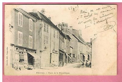 Cpa -  Faverney -  70 -  Place De La Republique