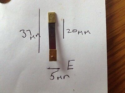 Brand New Top Quality Clock Brass pendulum suspension spring. (E)