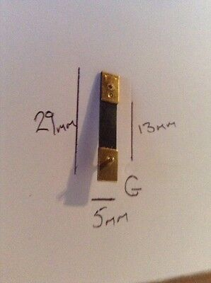 Brand New Top Quality Clock Brass pendulum suspension spring  (G)