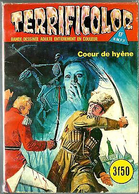French 1970's Illustrated Erotic Digest Comic Terrificolor #40 Fine