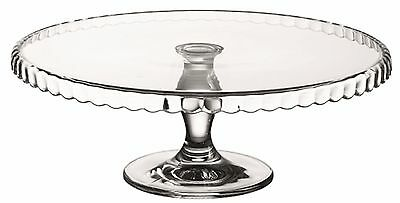 Pasabache Large 32cm Glass Cake stand on pedestal