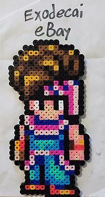 Randi Secret Of Mana Bead Sprite Perler Art Retro Nintendo Snes Square Enix
