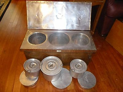 Antique Rapid Fireless Cooker By The WM. Campbell Co. Fireless Cook Stove